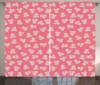 Daisies Girls Room Curtain