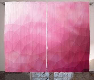 Shades Fragments Gradient Curtain