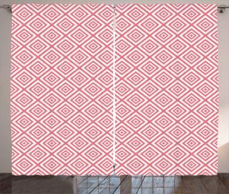 Mosaic Square Shapes Tile Curtain