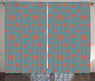 Vintage 50s Inspired Curtain