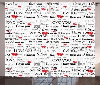 Romance Couple Love Curtain