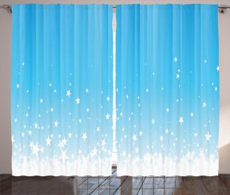 Star Vibrant Celestial Curtain