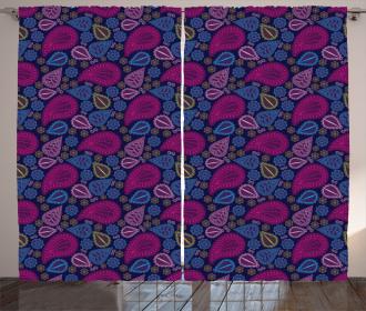 Paisley Swirls Curtain