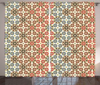 Ethnic Arabic Motifs Curtain