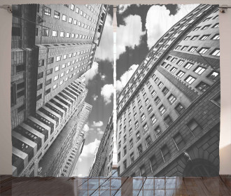 Sky in Manhattan Curtain