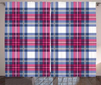 Vintage Scottish Effects Curtain