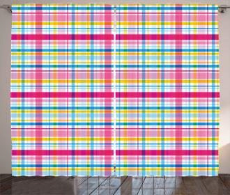 Irısh Culture Vibrant Curtain