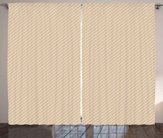 Classic Striped Pattern Curtain