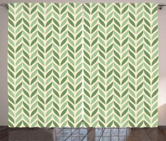 Symmetric Green Curtain