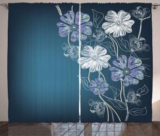Cherry Blossom Bridal Theme Curtain