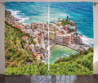 Vernezza Italy Curtain