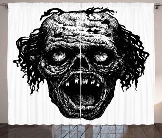 Zombie Evil Dead Man Curtain
