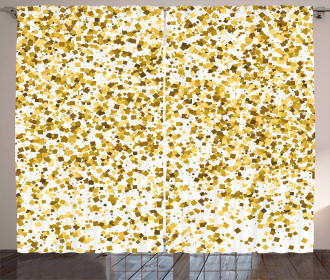 Party Confetti Squares Curtain