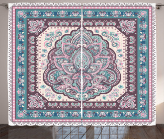 Arabic Paisley Oriental Curtain