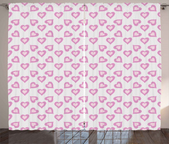 Love Inspired Hearts Curtain