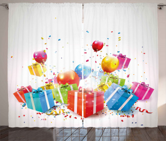 Surprise Boxes Balloon Curtain
