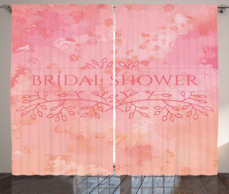 Bride Invitation Curtain
