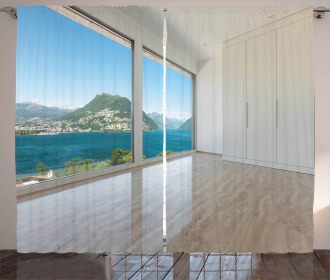 Penthouse Interior View Curtain