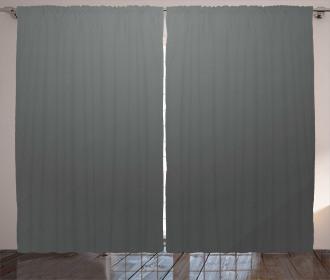 Plain Colored Dark Abstract Curtain