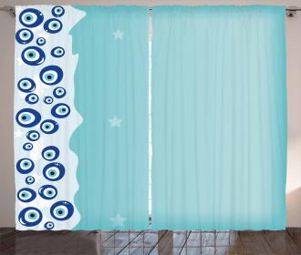Vertical Amulet Border Curtain