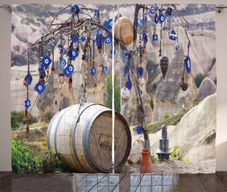 Tree Anatolian Culture Curtain