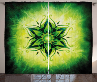 Esoteric Asian Mystical Curtain