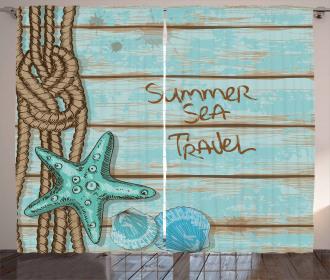 Summer Travel Curtain
