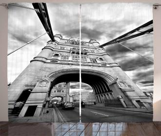 Tower Bridge England Curtain