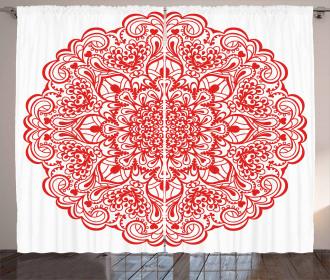 Arabesque Flourish Curtain