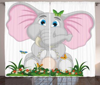 Garden Daisies Curtain