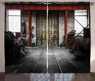 Rusty Storage Curtain