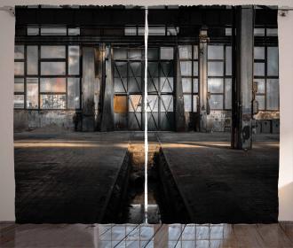 Derelict Place Curtain