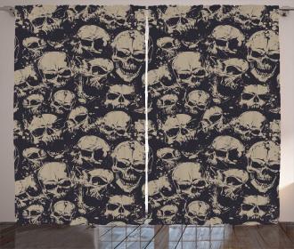 Grunge Scary Evil Curtain