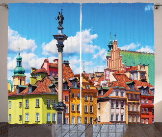 Scenic Old Warsaw Curtain