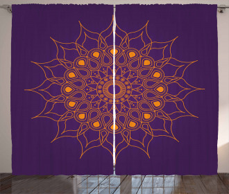 Mystic Sun Icon Curtain