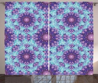 Mosaic Fractal Curtain
