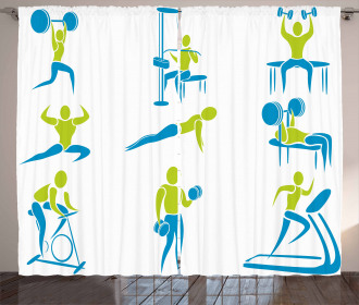 Gym Activity Equipment Curtain