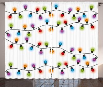 Vibrant Celebratory Curtain