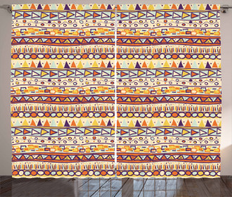 Mexican Ethnic Style Curtain
