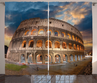 Colosseum at Sunset Curtain