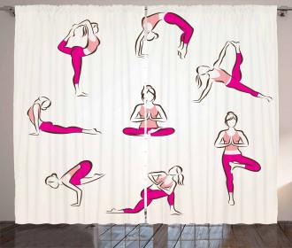 Pilates Exercise Health Curtain