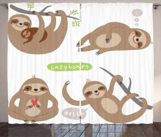 Kids Collection Animal Curtain