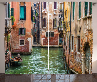 Famous Streets on Water Curtain