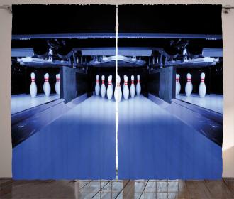 Symmetrical Pins Curtain