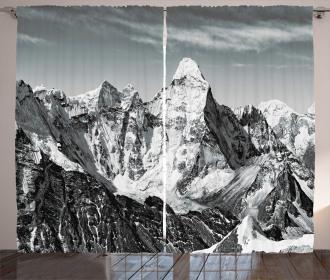 Mountain Peaks Curtain