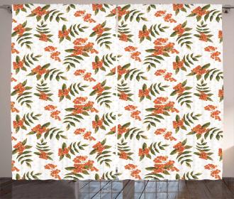 Botanical Foliage Nature Curtain