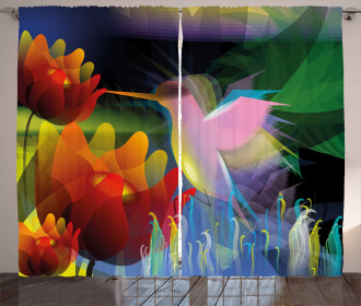 Fantasy Digital Painting Curtain