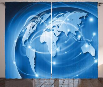 Global Commerce Network Curtain