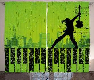 Music in the City Curtain