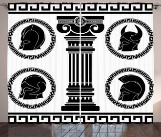 Antique Spartan Curtain